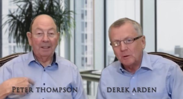 Derek Arden Interviews Peter Thomson