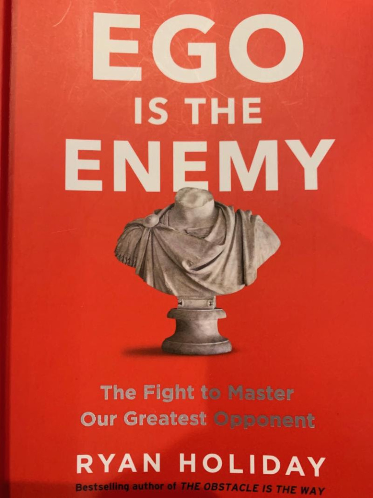 March Briefing - Book Ego is the Enemy