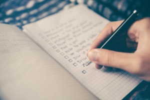 Improve your recall - one tip - to do lists.