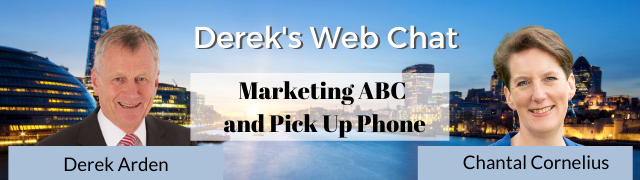 Marketing ABC and Pick Up Phone – Chantal Cornelius and Derek Arden