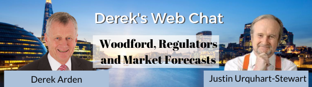 Woodford, Regulators and Market Forecasts – Justin Urquhart-Stewart with Derek Arden
