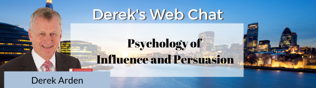 Derek Arden Web Chat – Influence