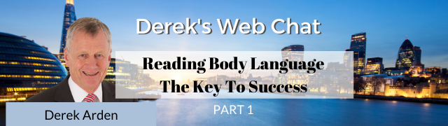 Reading Body Language web chat by Derek Arden