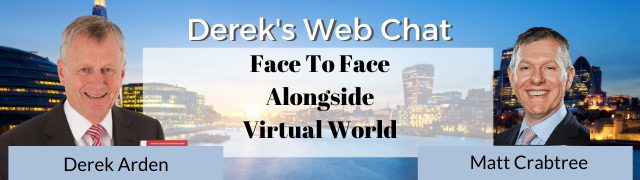 Face-To-Face Alongside Virtual World – Matt Crabtree