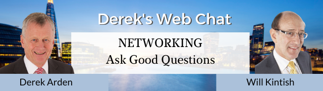 Networking – Ask Good Questions – Will Kintish