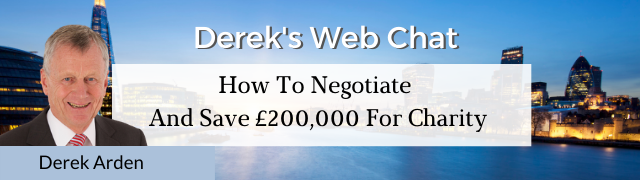 How To Negotiate and Save £200,000 For Charity