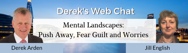 Mental Landscapes:  Push Away – Fear Guilt and Worries – Jill English