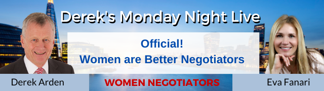 Women Negotiators – Derek Arden with Eva Fanari