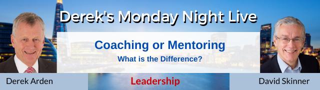 leadership coaching and mentoring
